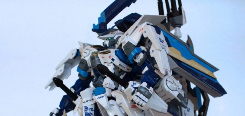 KAMUI | Master Grade 1/100 Astray Blue Frame Second Revise Project by TR13
