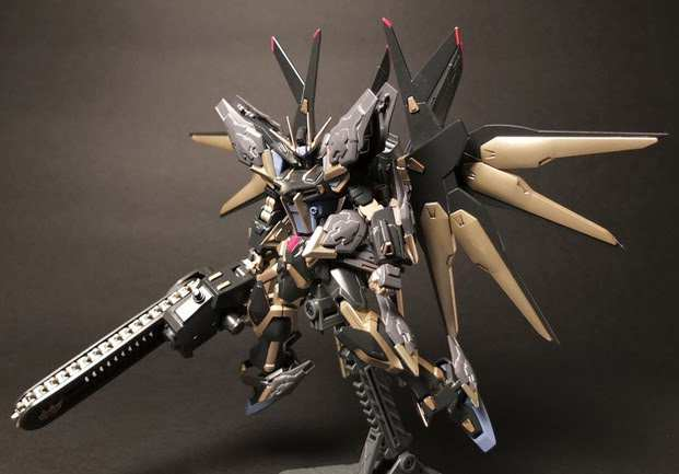 1/144 GAT-X105B/FP EX Devil De Strike Gundam by Mattune