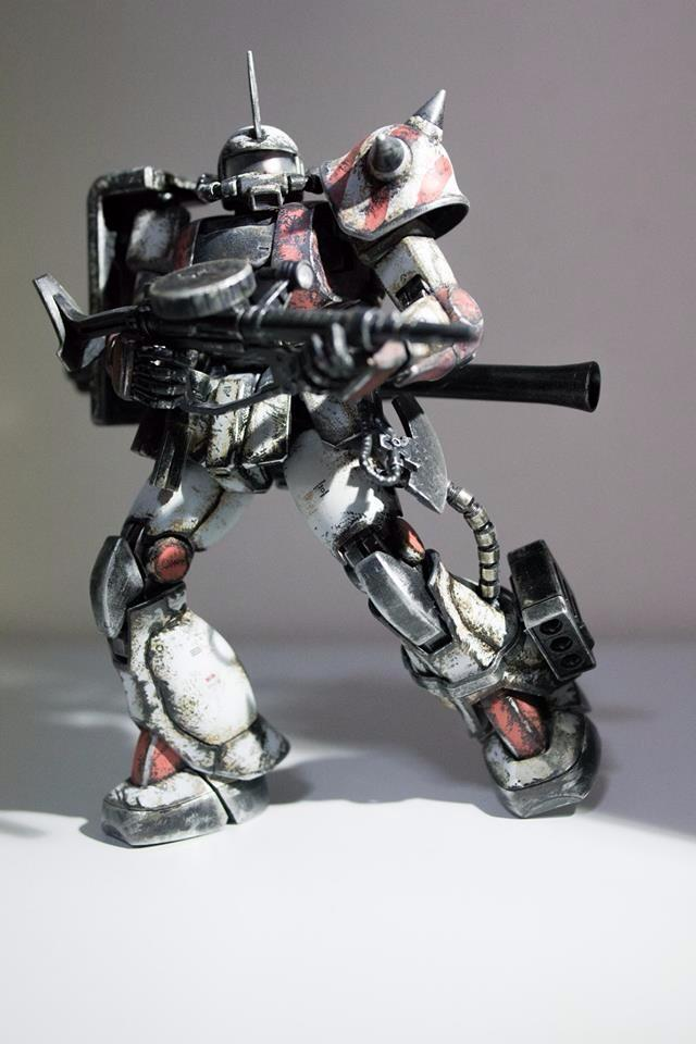 Zaku II Phil Def Force White Ogre