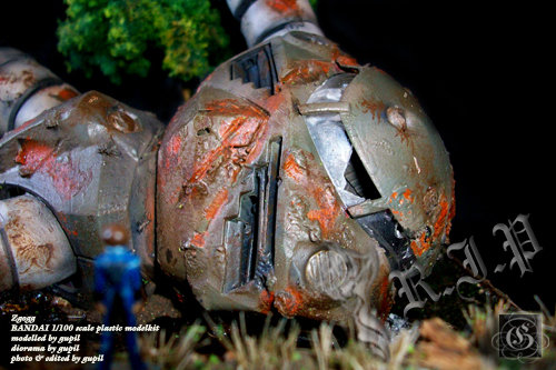 MG Z'Gogg RIP Diorama by Surya