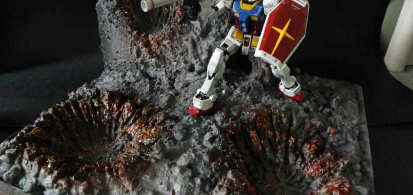 How to Create a Gundam Diorama (Anazasi Tutorial)