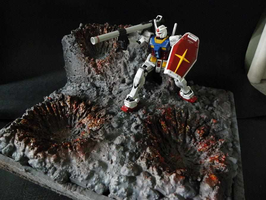 Gundam Diorama Tutorial How to Create a Gundam Diorama