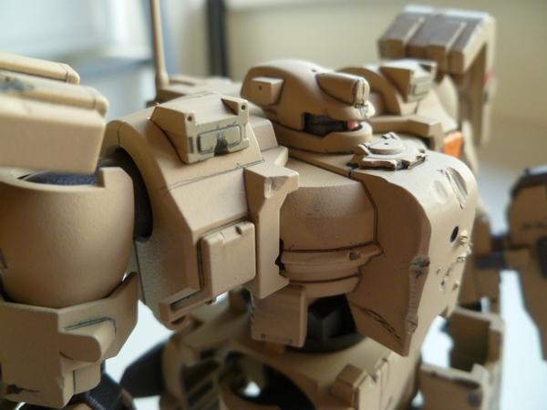 Ground-type Tieren – with Battle damage
