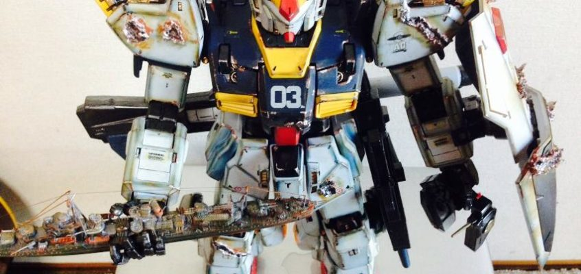 Perfect Grade RX-178 Mk-II Gundam Battle Damage Effect