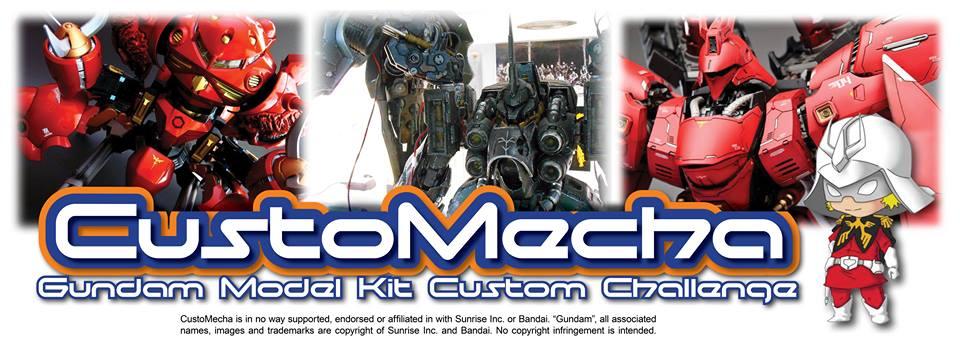 CustoMecha Gundam Model Kit Custom Challenge 2014