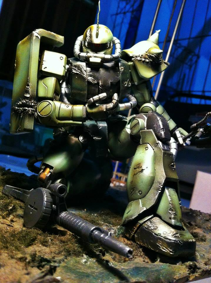 MS-06J Zaku II ver.LOW
