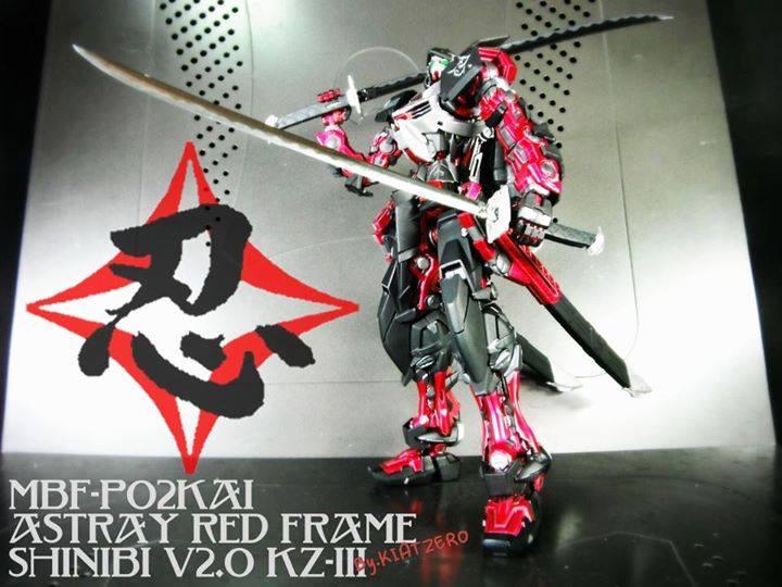 SHINOBI V2.0 – MBF-P02KAI Astray Red Frame by Kiatzero Factory