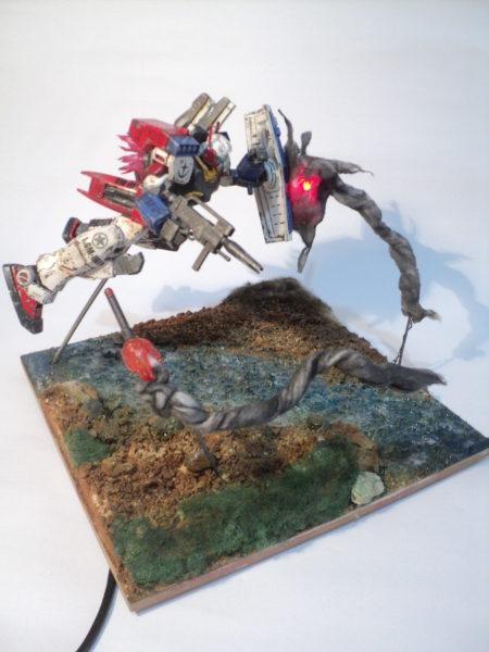 gmiii--rgm-86r-diorama-under-attack_21300783083_o