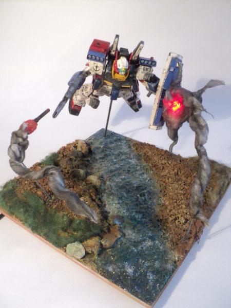 gmiii--rgm-86r-diorama-under-attack_21300808873_o