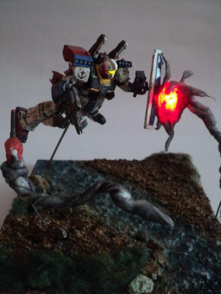 gmiii--rgm-86r-diorama-under-attack_21733431550_o