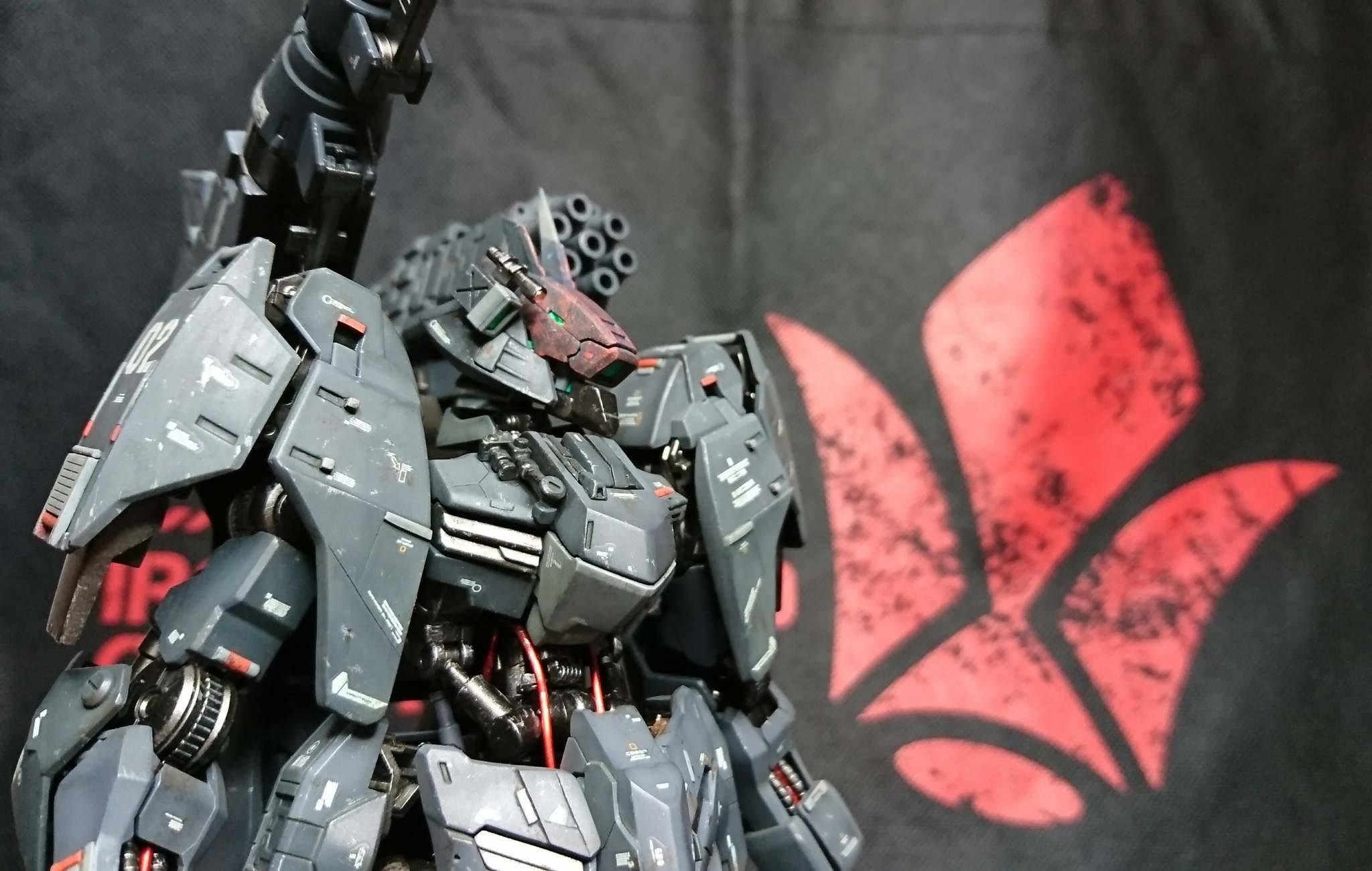 Gundam Gusion Rebake Ground Type by Dragon1000Model