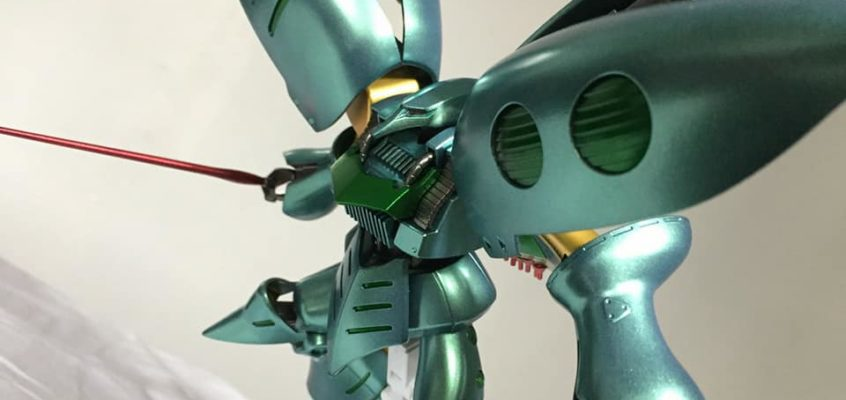 1/144 HGUC Qubeley Revive | Painted by JMOWORKS