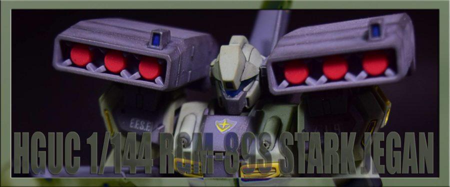 HGUC 1/144 RGM-89S STARK JEGAN | Custom Painted by RedVal89
