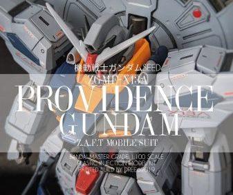 MG Providence Gundam (Premium Decal edition)   Custom Painted by DREE