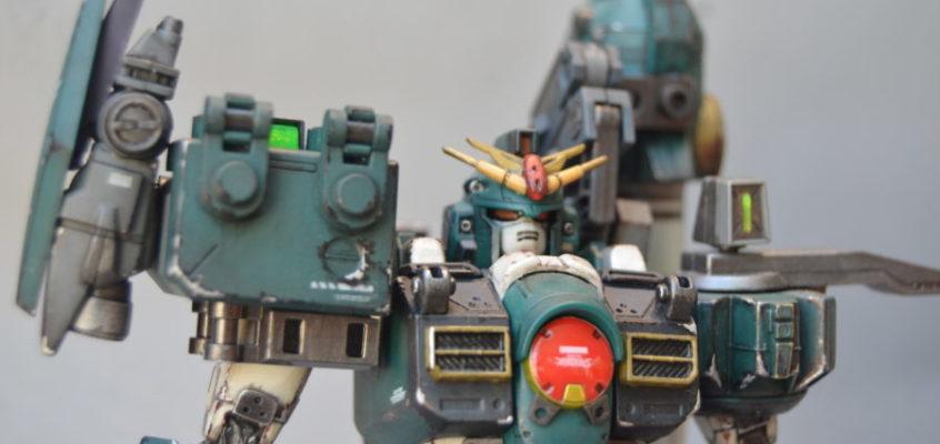 Battle Hardened GT-9600 Gundam Leopard by KONG