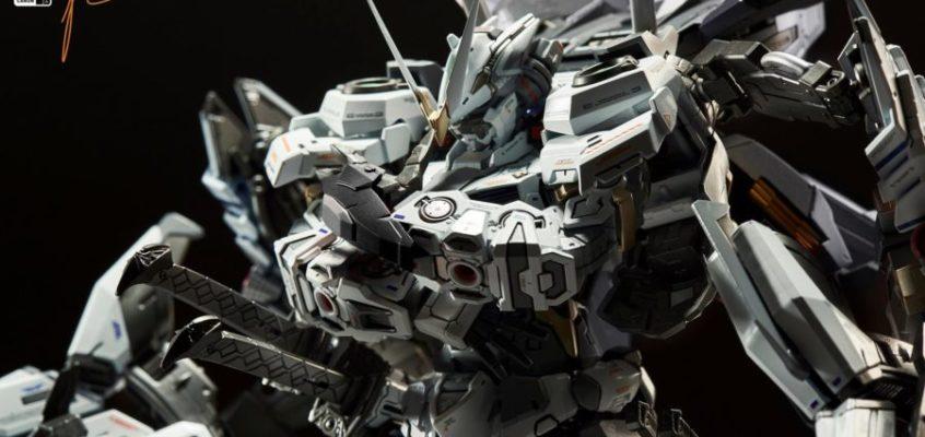 Master Grade 1/100 Astray Sengoku ver White Tiger by BjCanon