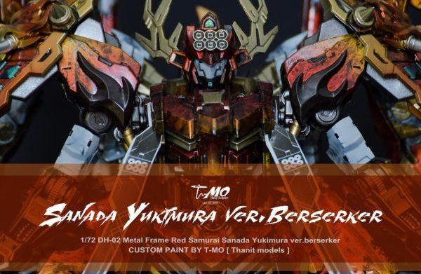 1/72 Samurai Sanada Yukimura ver.berserker by T-Mo (Thanit Models)