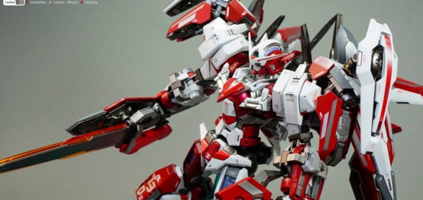 Master Grade 1/100 Exia – Fire Dragon by BjCanon