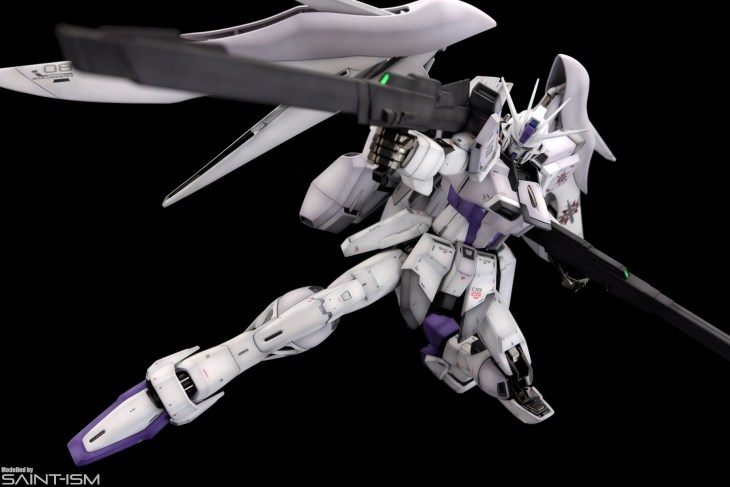 MG Impulse Gundam Blanche by Saint-ism