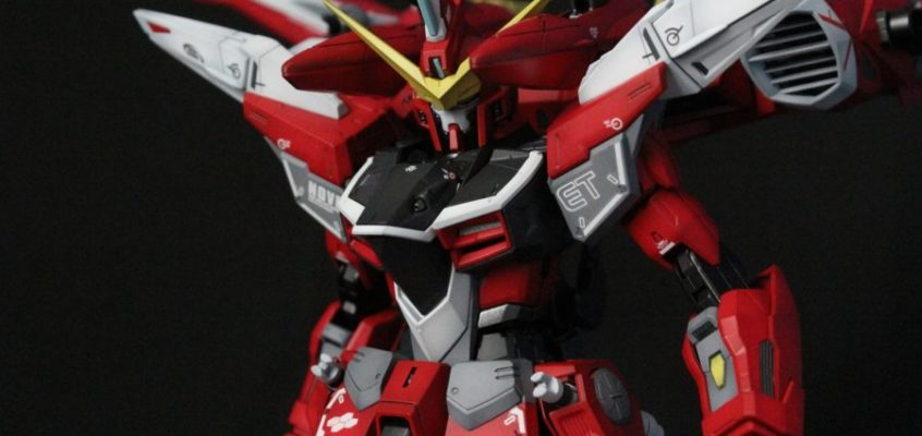 1/100 Master Grade JUSTICE GUNDAM Custom Painted by JMOWorks