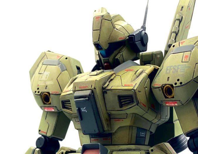 Master Grade 1/100 RGM-89 JEGAN Custom Painted by MODOKAN