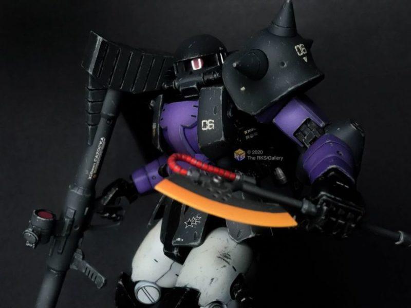 Master Grade 1/100 Black Tristars Zaku II 2.0 High Mobility Type by RKS