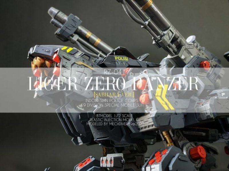 ZOID LIGER ZERO PANZER SABHARA VER. by Mechdiver89
