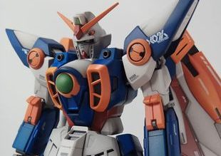 1/100 Master Grade Wing Gundam Repaint by Irya Setiawan